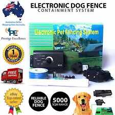 Electronic Dog Fence Containment System Safety Fencing Boundary Collar Wireless