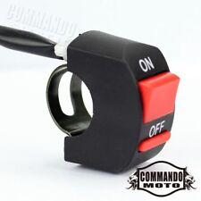 "Fog Turn Signal Light Kill ON/OFF Red Button Switch For 7/8"" Handlebar Dirt Bike"