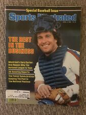 Sports Illustrated - April 4, 1983 - GARY CARTER - Baseball Issue