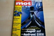 1) MOT 11/1999 - Honda S 2000 mit 240PS im Fahr - Audi A6 4.2 quattro mit 300PS
