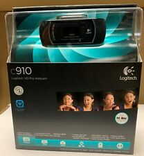Logitech C910 HD 1080p Pro Webcam Full HD - BRAND NEW SEALED, BNIB, NIB, NEW