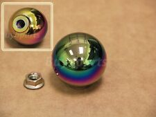 NeoChrome aluminum 5 speed Gear Shift KNOB 10x1.5 For Manual Transmission M/T