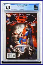 Superman Batman #39 CGC Graded 9.8 DC October 2007 White Pages Comic Book
