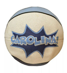 North Carolina Tar Heels UNC Basketball Ball Official Rubber Street Blue White