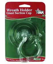 Adams Giant Suction Cup Wreath Holder Hook