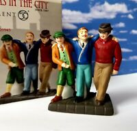 DEPT 56 Christmas in the City UPTOWN BOYS!   RARE