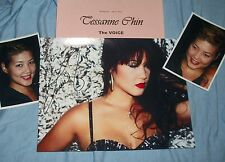 TESSANNE CHIN Autographed Photo & Photos of The VOICE Collectible