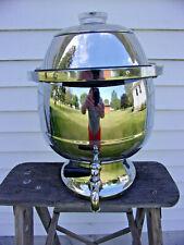New listing Hamilton Beach 1950s Atomic Gort Head 15 - 35 Cup Percolator Coffee Pot