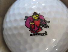 (1) Werner Ladder Logo Golf Ball