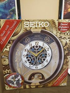Seiko Melodies in Motion Clock 2020-QXM386BRHZ Collectors Special Edition