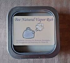 ALL NATURAL Vapor Chest Rub - Congestion Relief - Better than Vicks - 2oz
