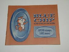 New Condition Regular Full Size 1960's Unused Blue Chip Savings Book No Stamps