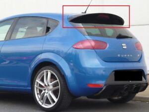 SEAT LEON 2 2009-2012 AFTER FACELIFTING SPOILER ROOF POSTERIORE NEW