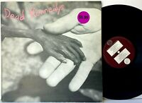 Dead Kennedys Plastic Surgery Disasters UK Pressing + Book LP Vinyl Record Album