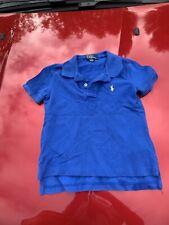 Size 2 Ralph Lauren Polo Shirt Blue