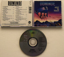 Dominoe - Keep in touch (1988, rare RCA original + 2 Maxi Versions) Here I Am