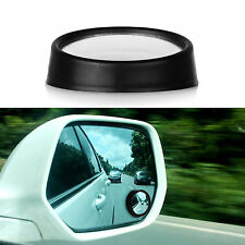 2x Clear Car Rear View Mirror Wide Angle Blind Spot Mirror Round Convex Parking