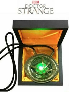 Cattoys Marvel Doctor Strange Eye of Agamotto Light Up Prop Replica New In Stock