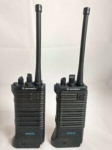 Motorola ASTRO R Saber VHF 136-174 MHz P25 Digital MODAT Multikey QTY 2