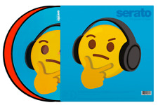 Serato Control Vinyl - Thinking and Crying Emoji (Pair)