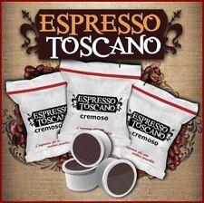 100 capsule caffè ESPRESSO TOSCANO CREMOSO comp. LAVAZZA ESPRESSO POINT