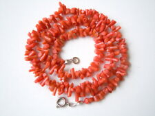 Feine Kette mit Lachsfarbenen Ast-Korallen 17,3 g / 42 cm Längster Ast 1,0 cm