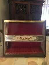 Vintage/art Deco Revlon Lipstick Store Display Case Holder Holds 72 1950's ?