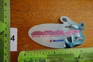 Alter Aufkleber Motorrad Motorsport SUZUKI Estilete 50