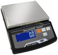 My Weigh i2600 0.1g Digital Precision Balance Jewelry Coin Scale iBalance 2600