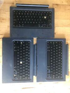 Lot of 3 Logitech Slim Combo Case Bluetooth Keyboard iPad Y-B0009 820-008364