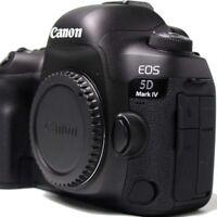 Canon EOS 5D Mark IV 30.4MP Digitalkamera - Schwarz (Nur Gehäuse)