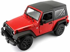 1 18 Maisto Jeep Wrangler 2014 Yellow/black