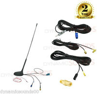 Universal DAB Roof Mount Antenna Kit DAB/FM/AM GPS Amplified Aerial
