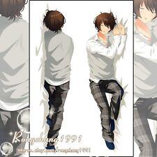 Anime Game Ensemble Stars Ritsu Sakuma BL Male Dakimakura Hug Body Pillow Cover