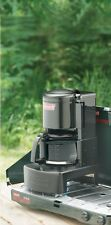 Camping Coffee Maker Coleman Outdoors Propane Stove Top Drip 10 Cups Carafe Pot