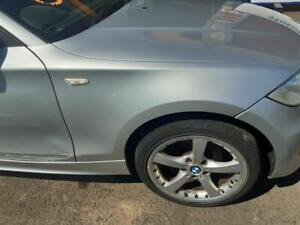 FRONT WING BMW 1 SERIES E87 2004 TO 2011 116I SILVER DRIVERS SIDE & Warranty