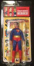 """Superman KRESGE package Mego 8"""" action figure CLASSIC TV TOYS DC Universe 2015"""