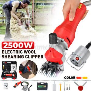 2500W Electric Sheep Shears Clipper Scissors Alpaca Goat Wool Hand Shearing Farm