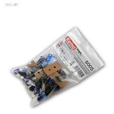 Kemo s005 assortimento elkos circa 50 Pezzi Condensatori Elko stützkondensator