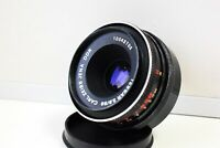 RARE Black Carl Zeiss Jena TESSAR Germany lens 50mm f/2.8 M42 mount EXC
