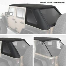 Smittybilt All In One Bowless Soft Top & Hardware Kit 07-18 4dr Jeep Wrangler JK