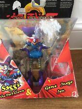 "Yu-Gi-Oh: Saggi the Dark Clown 6"" Kazuki Takahashi Action Figure Boxed"