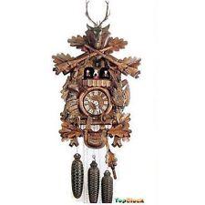 DOLD 8MT62 Live Animal Hunter 8 Day Cuckoo Clock