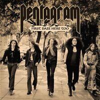 PENTAGRAM - FIRST DAZE HERE TOO (2LP BLACK VINYL REISSUE)  2 VINYL LP NEU