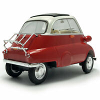 1:18 Scale Vintage 1955 BMW Isetta Collectable Diecast Model Car Red Mens Gift