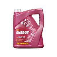 5Liter MANNOL Energy Motorenöle API SL 5W30 VW 502.00 505.00 ACEA A3 B3 MB 229.3