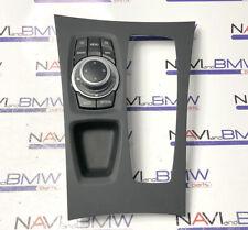 BMW X5 X6 E70 E71 CIC SAT NAT iDrive Controller + Bezel Frame Trim RHD UK ver