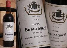 1966er Chateau Beauregard - Saint Emilion - Top Füllstand - Rarität !!!!!!!