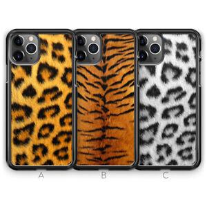 Snow Leopard Tiger Print Phone Case for iPhone 11 Pro Max SE XR X XS 8 7 Plus