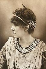 Sarah Bernhardt (1844-1923) Actrice comédienne cliché Nadar Théâtre Circa1870